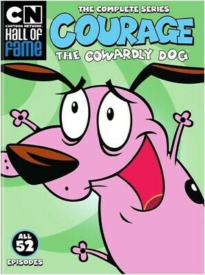 Cartoon Network Hall Of Fame: Courage The Cowardly Dog Complete Series [New DVD]