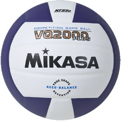 Mikasa VQ2000 Volleyball - Purple/White