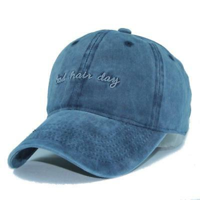 Men's Baseball Cap Women Snapback Hats Embroidery Adjustable Denim Hat Caps Kit