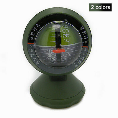 Outdoor Multifunction Car Inclinometer Angle Slope Meter Balancer Compass Camp