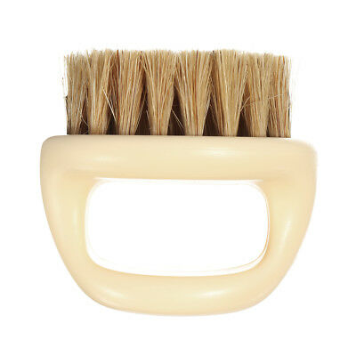Horse Hair Men Shaving Brush Barber Salon Men Facial Beard Cleaning Tool Handle