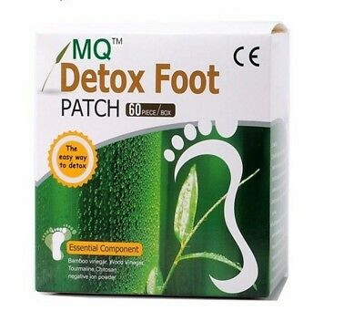 Foot Patch Bamboo Vinegar Pads Detox Improve Sleep Beauty Slimming Lose Weight