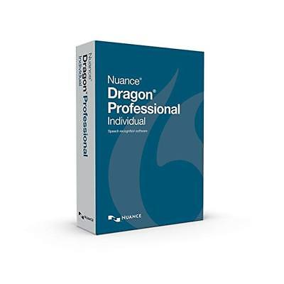 Nuance Dragon Professional Individual 14 - Keycode, DVD and Headset Official NEW