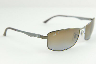 Ray-Ban RB 3498 029/T5 61-17 135 3P men's/women's sunglasses gunmetal polarized
