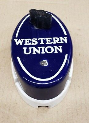 Antique Western Union Porcelain Call Box   # 6-B   Pre 1930's  FREE SHIPPING!
