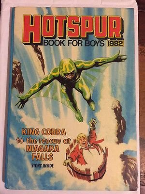 Hotspur Book For Boys Annual (1982) Unclipped  ***excellent Cond***