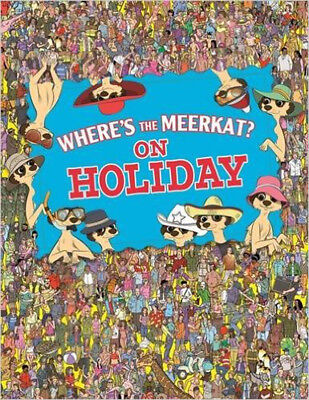 Where's The Meerkat? On Holiday, New, Paul Moran Book