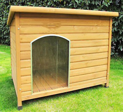 Extra Large Wooden Dog Kennel Outdoor Terrier Bulldog Retriever Spaniel House