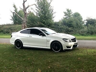 Mercedes Amg C63 527 Bhp 2012 125 Edition 7G Mct Pearl White Part Ex Or Swap