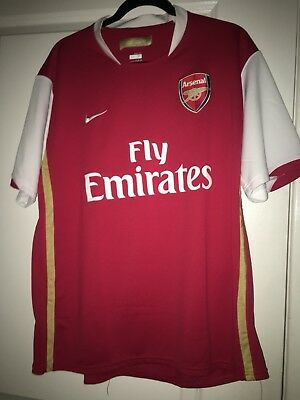 7f85e6c59 Nike Fit Dry Arsenal FC Fly Emirates Soccer Jersey Size Men s X Large.  Pnoon 69