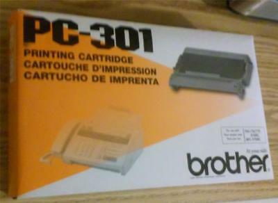 Brother PC-301 Printing Cartridge for FAX 750/770/870MC or MFC970MC - New-in-Box