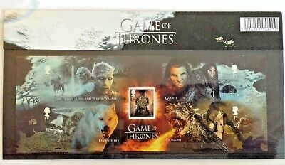 GAME of THRONES Presentation Pack MNH GB 2018 - 5 X 1st Class Stamps