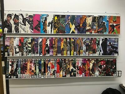 Catwoman #1-82 , 83 Complete Set Lot Run DC All Adam Hughes Covers Comic Batman