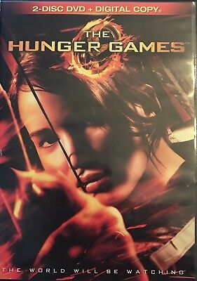 The Hunger Games (DVD, 2012, 2-Disc Set) - Get Combined Shipping!