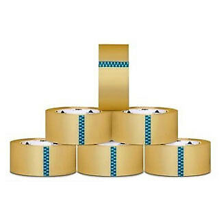 24 Rolls Clear Carton Sealing Packing Tape Box Shipping 2.5 Mil 3-inch x 110