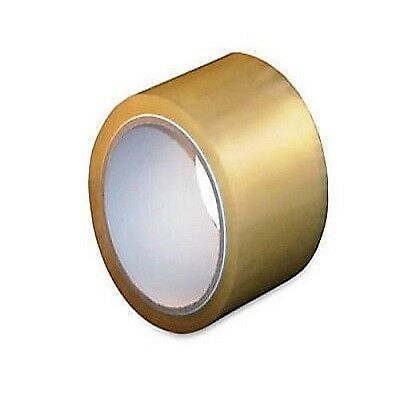 24 Rolls Hotmelt Clear Packing 1.6 Mil Shipping Box Tapes 3-inch x 110 Yards