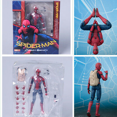 Hot Spider-Man Homecoming Spiderman Hero Action Figure Toy kids Gift Collectible