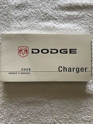 2008 dodge charger owners manual 10 00 picclick rh picclick com 2008 dodge charger service manual pdf 2008 dodge charger owners manual online