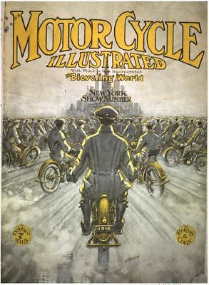 Motorcycle Illustrated 270 Historical Issue Collection On Free Shipping