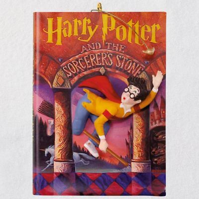 Hallmark 2018 Harry Potter and Sorcerer's Stone Book Ornament Fast