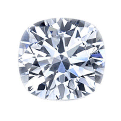 Cushion Cut Loose Moissanite Stone Certified Charles & Colvard Various Size Ct