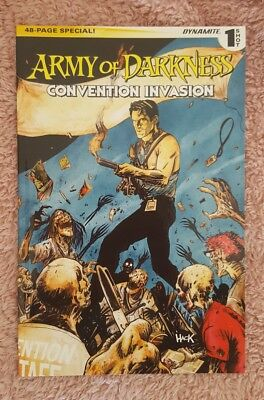 Army Of Darkness Convention Invasion special graphic novel Rare