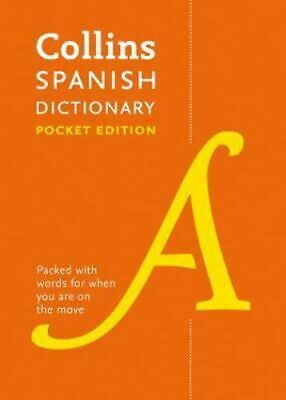 NEW Collins Pocket Spanish Dictionary [Eighth Edition] By Collins Dictionaries