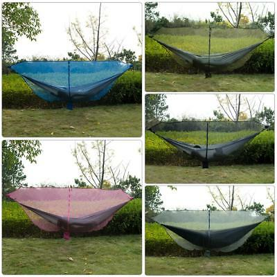 Double Person Mesh Outdoor Camping Tent Hanging Hammock Swing Bed Mosquito Net