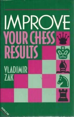 Improve Your Chess Results (Batsford Chess) by Zak, Vladimir Paperback Book The