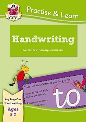 New Practise & Learn: Handwriting for Ages 5-7 (CGP KS1 Practise... by CGP Books