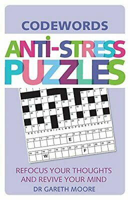 Anti-Stress Puzzles: Codewords by Gareth Moore Book The Cheap Fast Free Post