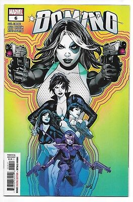 Marvel Comics DOMINO #6 first printing