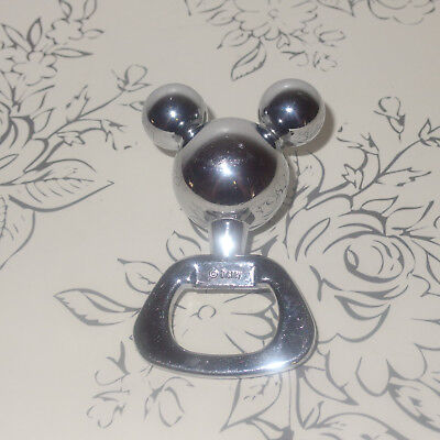Disney Icon Mickey Mouse Silver Bottle Opener