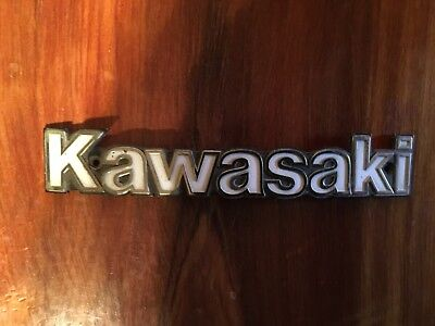 Kawasaki KZ1300 tank badge  L left 56014-1025A