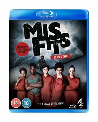 Misfits Series 2 [Blu-ray] - DVD  7IVG The Cheap Fast Free Post