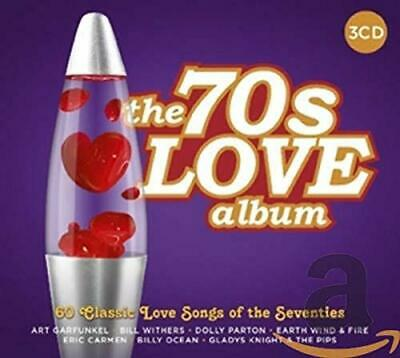 Various Artists - The 70s Love Album - Various Artists CD J1VG The Cheap Fast