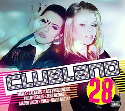 Various Artists - Clubland 28 - Various Artists CD ZGLN The Cheap Fast Free Post