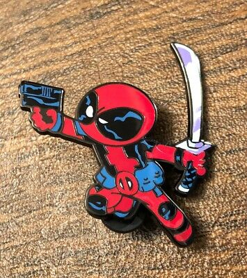 2018 NYCC EXCLUSIVE - DEADPOOL - Marvel Mystery Pin - Skottie Young