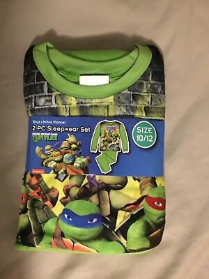 Boys Teenage Mutant Ninja Turtle 2-Piece Flannel