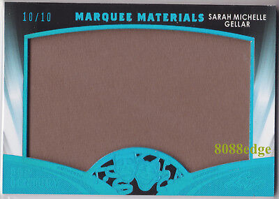 2016 Pop Century Marquee Materials Mm24: Sarah Michelle Gellar #10/10 Worn Patch