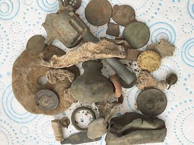 Ancient/GROUP OF INTERESTING  METAL DETECTOR FINDS FROM Norfolk Field No2