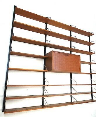 Poul Cadovios Royal I Teak I Cado Wall Unit Regal I 60Er Jahre