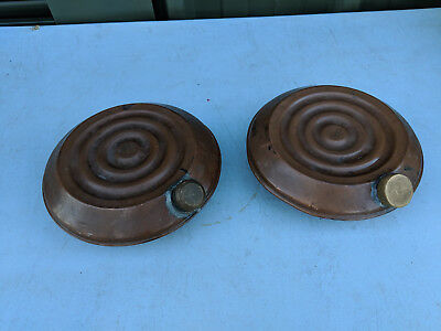 Pair of copper vintage hot water bottles TC290918RR