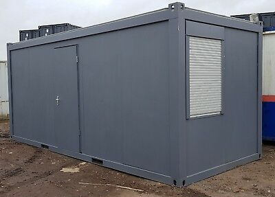 20ft x 8ft Portable Cabin Portable Office Site Office Welfare Unit