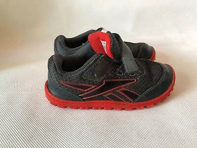 a47cd794a6dfb1 REEBOK PEEK-N-FIT TODDLER Child Baby Size 6.5 White Leather Athletic ...