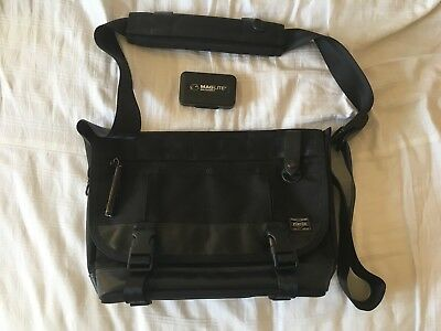 PORTER YOSHIDA   Co. Heat Messenger Bag black - Made in Japan - EUR ... 8bbc26981b7b6
