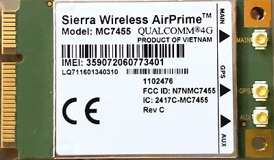Sierra Wireless Air Prime MC7455 unlock. Brand New and Free shipping.