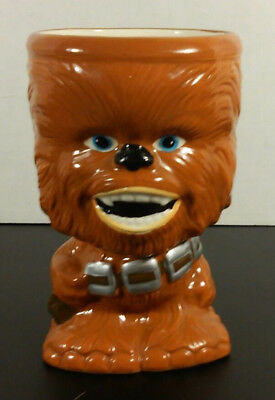 "Star Wars Collectable Chewbacca Gallerie Ceramic Mug Cup Goblet 6"" Tall"