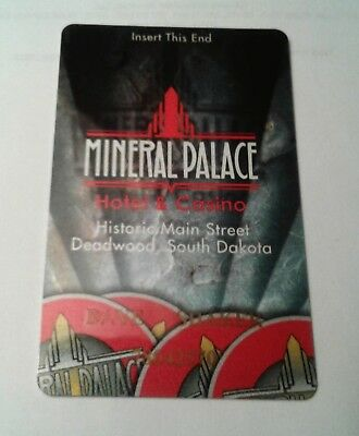 Casino Players Card from Mineral Palace  Casino in Deadwood South Dakota