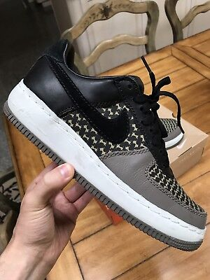 the best attitude ccfae 74347 Nike Air Force 1 black UNDEFEATED VINTAGE JD Sport Linen Atmos ID sz 9